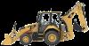 Экскаватор-погрузчик Caterpillar 416F